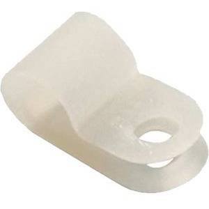 1/8' NYLON CABLE CLAMP/100