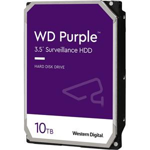 """WD Purple WD102PURZ 10 TB Hard Drive - 3.5"""" Internal - SATA (SATA/600)"""