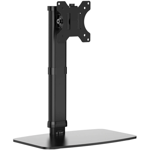 Tripp Lite Single-Display Monitor Stand Height Adjustable 17-27in Monitors