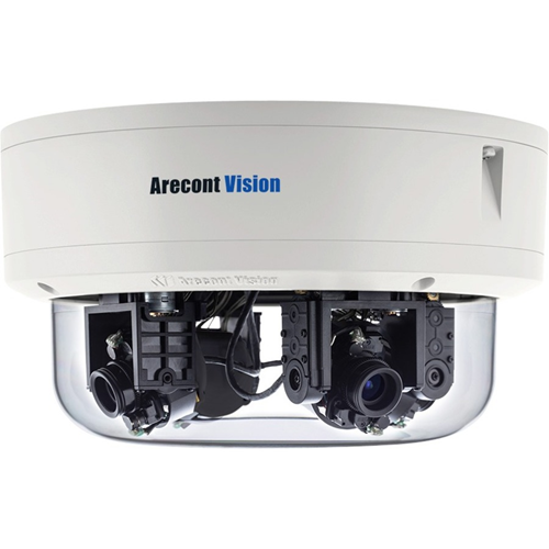 Arecont Vision ConteraIP AV8476RS 8 Megapixel Network Camera - Dome
