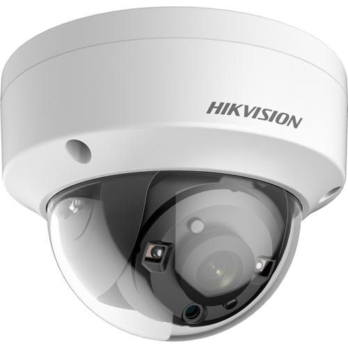 Hikvision Turbo HD DS-2CE57H8T-VPITF 5 Megapixel Surveillance Camera - Monochrome - Dome