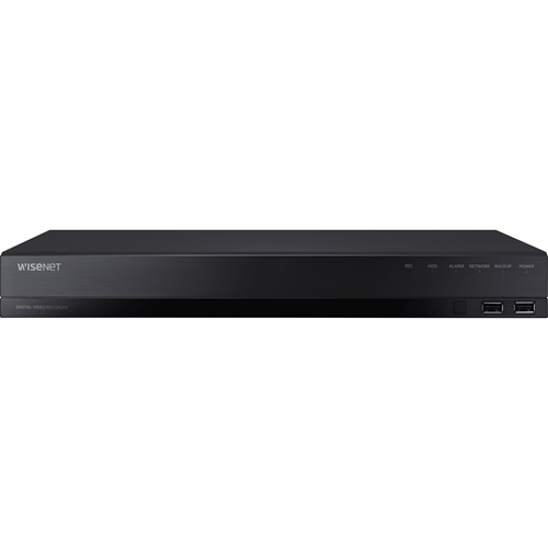 Wisenet HD+ Pentabrid DVR AHD (up to 8MP) TVI (up to 8MP) CVI (up to 5MP) CVBS and IP (up to 8MP) 4CH analog + 2CH IP and up to 6CH IP recording 1080p @ 30fps/ channel (frame rate at higher resolutions will vary) triple codec H.265/H.264/MJPEG 25M