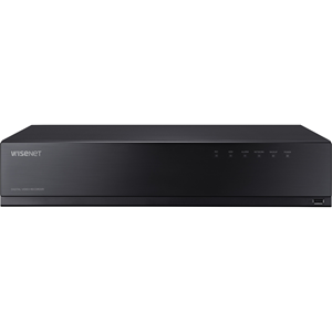 Wisenet HD+ Pentabrid DVR AHD (up to 8MP) TVI (up to 8MP) CVI (up to 5MP) CVBS and IP (up to 8MP) 16CH analog + 2CH IP and up to 18CH IP recording 1080p @ 30fps/ channel (frame rate at higher resolutions will vary) triple codec H.265/H.264/MJPEG 7