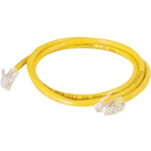 Quiktron 14Ft Value Series Cat.6 Non-Booted Patch Cord - Yellow