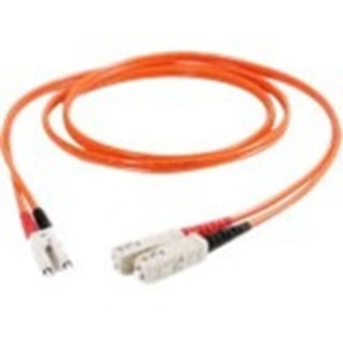 Quiktron Value Series 62.5/125 Multimode LC-SC Duplex Fiber Cable