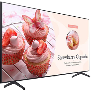 Samsung 75-inch BET Series Commercial TV Crystal UHD Display, 250nit, 16/7.