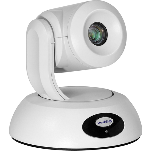 Vaddio RoboSHOT Elite Video Conferencing Camera - 8.5 Megapixel - 60 fps - White - USB 3.0 - 1 Pack(s)