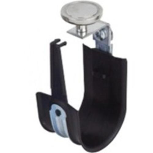 "Platinum Tools 1"" Top Mount Magnet HPH J-Hook, Black, Box of 10"