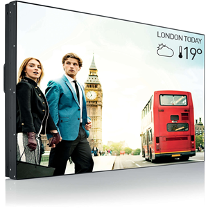 """Philips Video Wall Display 55"""" Direct LED Backlight, Full HD, 500cd/m2"""