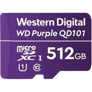WD Purple WDD512G1P0C 512 GB Class 10/UHS-I (U1) microSDXC