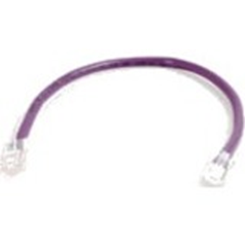 Quiktron 14FT Value Series Cat6 Non-Booted Patch Cord - Purple