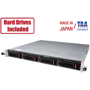 Buffalo TeraStation 6400RN 16TB (2 x 8TB) Rackmount NAS Hard Drives Included + Snapshot