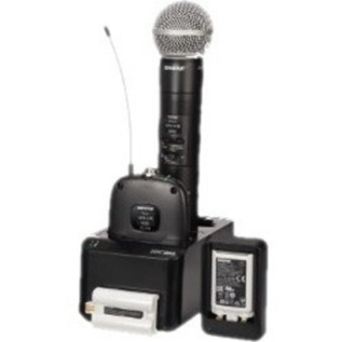 Shure Dual Wireless System with two SLXD1 Bodypack Transmitters