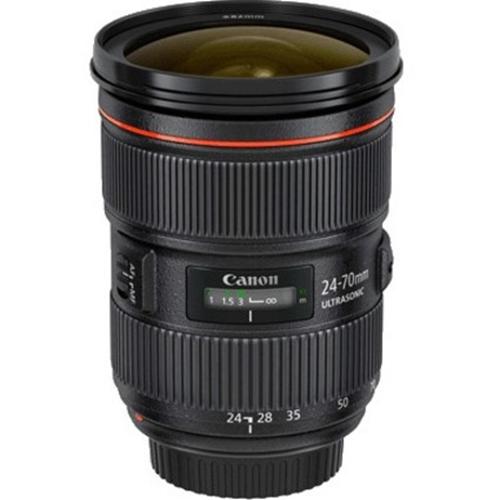Hanwha Techwin SLA-C-E2470 - 24 mm to 70 mm - f/2.8 - Varifocal Lens for Canon EF