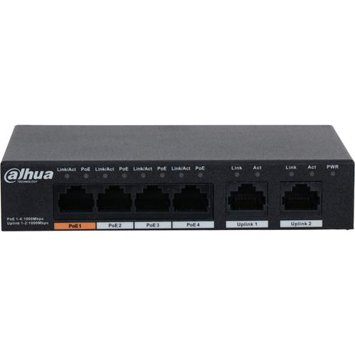 Dahua 4-port PoE Gigabit Ethernet Switch