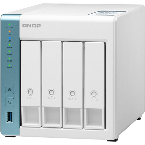 QNAP Quad-core 1.7GHz NAS with 2.5GbE and Feature-rich Applications for Home & Office