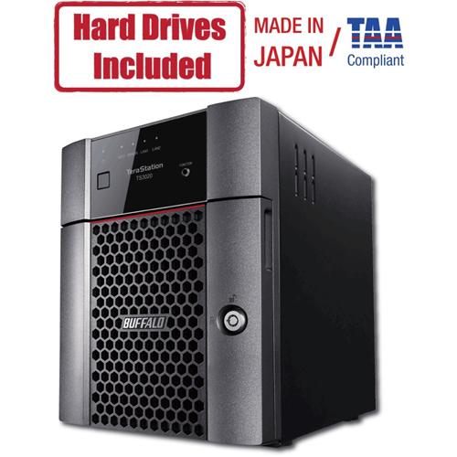 Buffalo TeraStation 3420DN Desktop 16 TB NAS Hard Drives Included