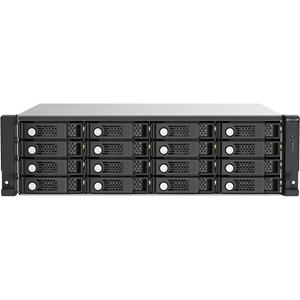 QNAP TL-R1620SEP-RP Drive Enclosure SATA/600 - Mini-SAS HD Host Interface - 3U Rack-mountable