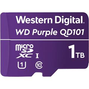 WD Purple WDD100T1P0C 1 TB Class 10/UHS-I (U1) microSDXC