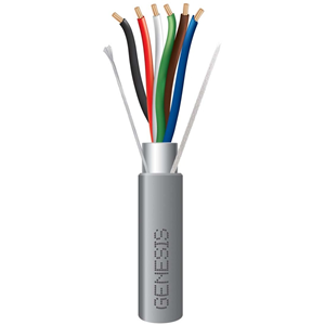 Genesis 18 AWG 6 Stranded Conductors, Shielded, Riser CMR/FT4