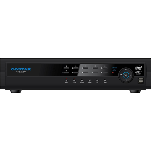 Costar 32 Channel H.265 Full HD Network Video Recorder