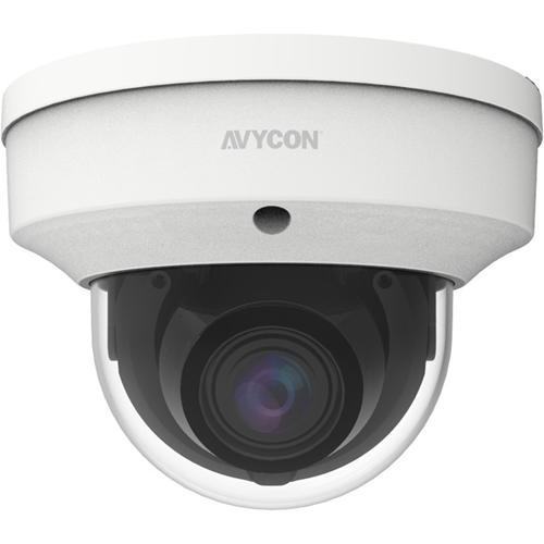 AVYCON AVC-NLV51M 5 Megapixel Outdoor HD Network Camera - Color, Monochrome - Dome