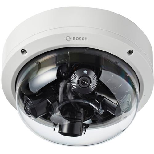 Bosch FlexiDome 20 Megapixel Outdoor 4K Network Camera - Monochrome, Color - Dome