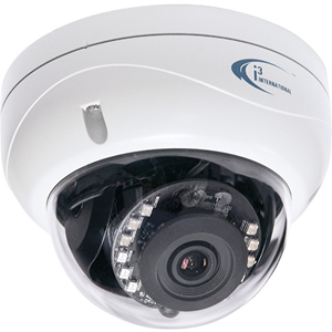 i3 AX67R2 3 Megapixel Indoor/Outdoor Network Camera - Color, Monochrome - Dome