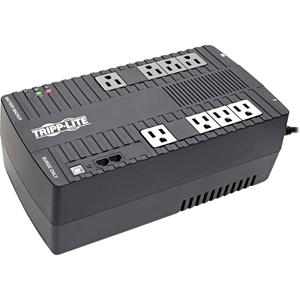 UPS w/AVR, Backup Time 20Min, 8 Outlets, 550VA, Black