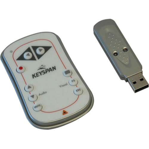 WIRELESS PC PRESENTATION REMOTE CONNECTS TO A USB PORT ON PC OR MAC