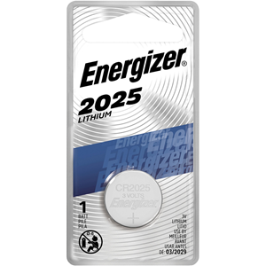 Energizer 2025 Lithium Coin Battery, 1 Pack
