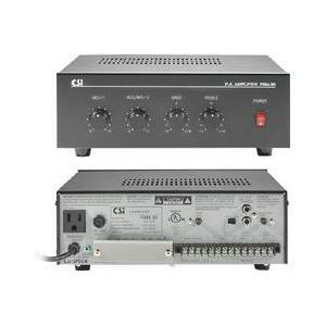 Speco Technologies PBM-30 30-Watt Commercial 70V Amplifier with 3-Channel Mixer
