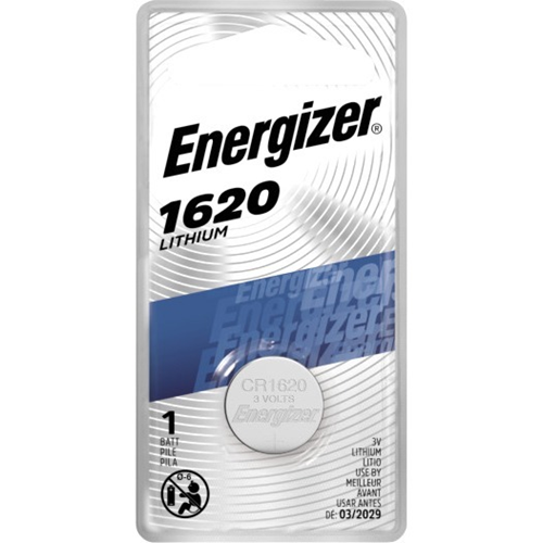 Energizer 1620 Lithium Coin Battery, 1 Pack