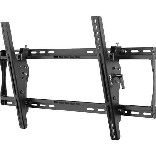 """Universal Tilt Wall Mount For 30"""" to 50"""" Screens (Black) Fits virtually any 30""""-50"""" flat-panel screen Mounts to 1 or 2 wood studs, concrete, cinder block or 2 metal studs with metal stud fasteners Universal brackets easily hook onto the mount bars f"