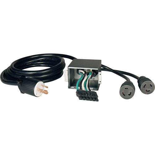 Corded UPS Backplate Outlet Kit - Adds AC plug-in connection and AC output receptacle to SU6000RT3UHV UPS