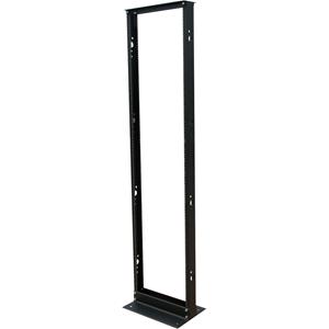 Tripp Lite 45U 2-Post Open Frame Rack Threaded Holes 800lb Capacity