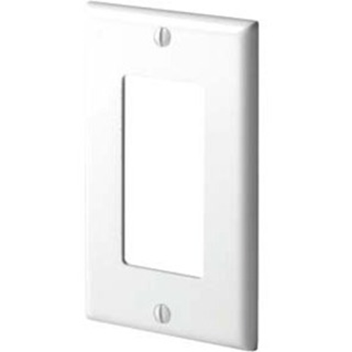 Leviton 1 Socket Decora Commercial Grade Faceplate