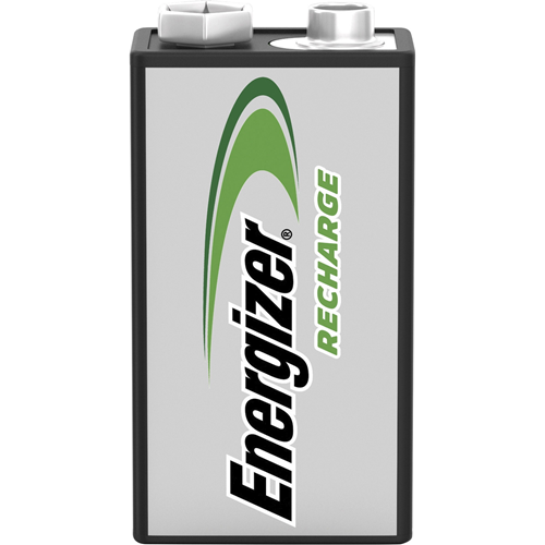 Energizer Recharge Universal Rechargeable 9V Batteries, 1 Pack