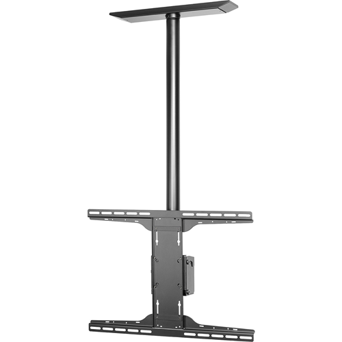 Peerless PLCM-UNL-CP Solid-Point Flat Panel Straight Column Ceiling Mount