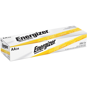 Energizer Industrial Alkaline AA Batteries, 24 pack
