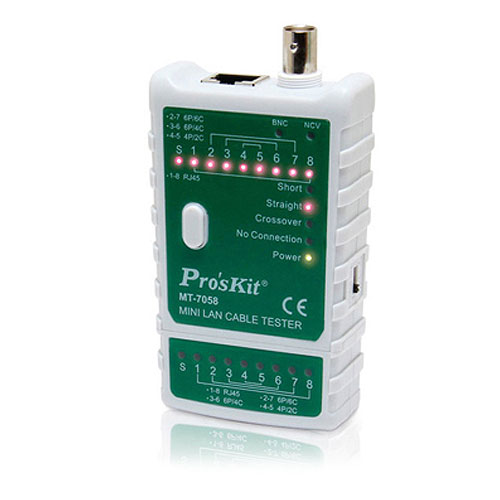 Eclipse MT-7058 Mini LAN Cable Tester