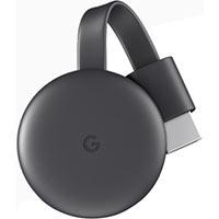 Google Chromecast Network Audio/Video Player - Wireless LAN - Charcoal