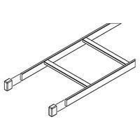 Ladder Rack End Cap PVC Blk