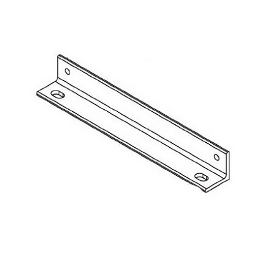 Ladder Wall Angle Support Kit12in Black