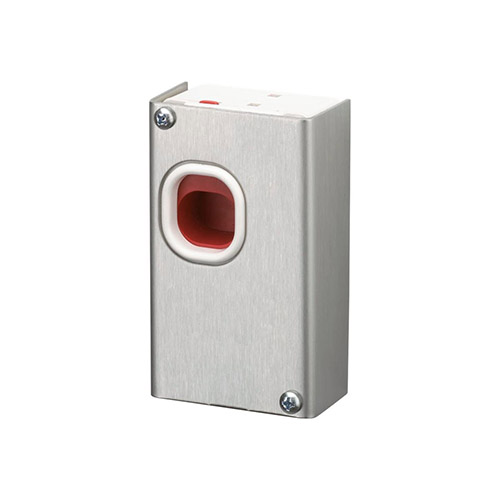 Honeywell Home Hardwired Hold-Up Switch with Stainless Steel Cover