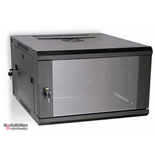 Kendall Howard LINIER 3130-3-001-06 Swing-Out Wallmount Rack Cabinet
