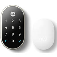 NEST X YALE LOCK NICKEL