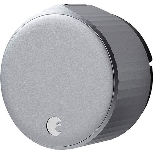 August Wifi Smart Lock, Silver  - Pro Exclusive