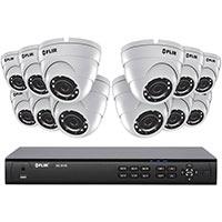 16CH 4K HD POE+ NVR BUNDLE, 12 X 4MP EB DOME