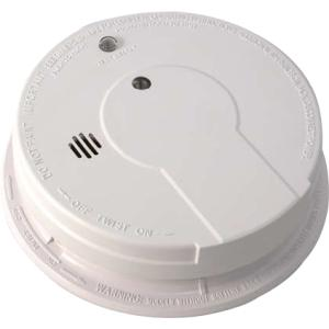 AC WIRE AND SMOKE ALARM WITH CARBON ZINC BATTERY